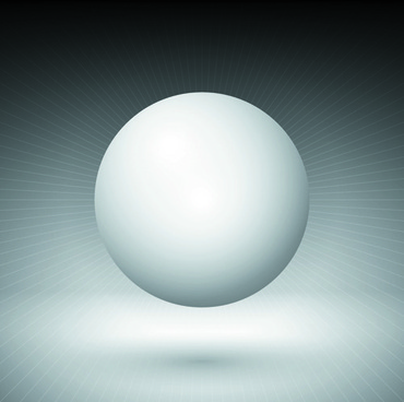 shiny spheres design vector