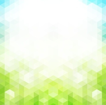 shiny spring elements vector background set