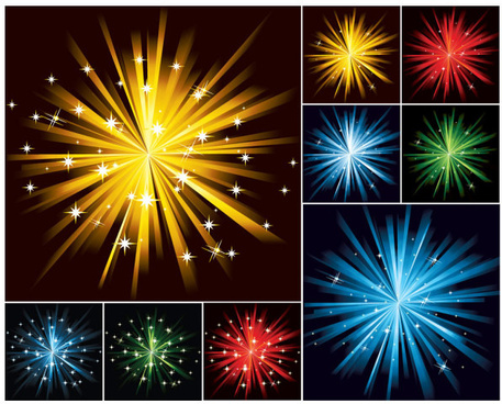 shiny star backgrounds vector graphic