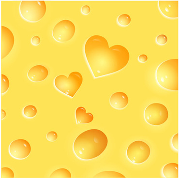 shiny yellow cheese background vector