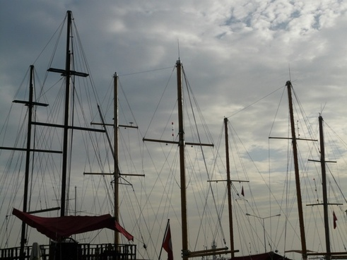 ship masts masts ship