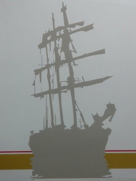 ship pirate ship masts