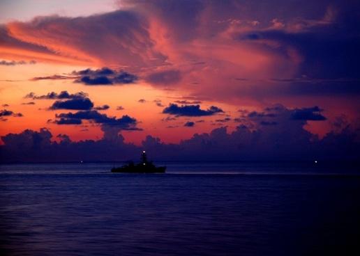 ship sea ocean