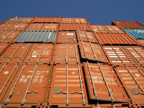 shipping containers crates