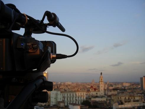 shooting cinema camcorder
