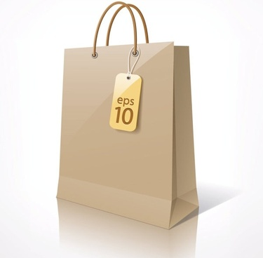 shopping bags 01 vector