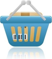 Shopping basket full