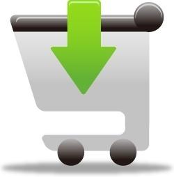 Shopping cart insert