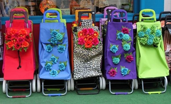 shopping cart trolley purchasing
