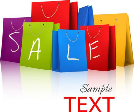 shopping element vector