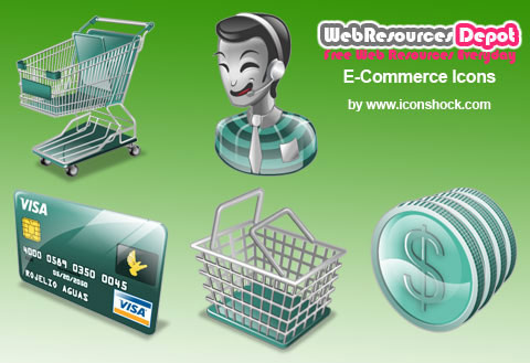 shopping icon vector vector