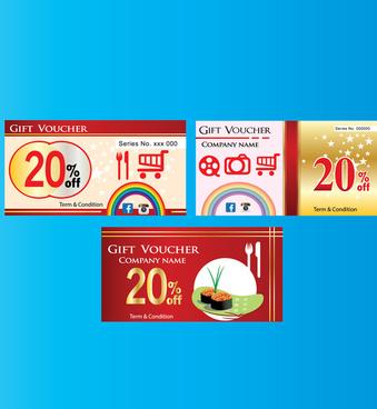 shopping promotion gift voucher
