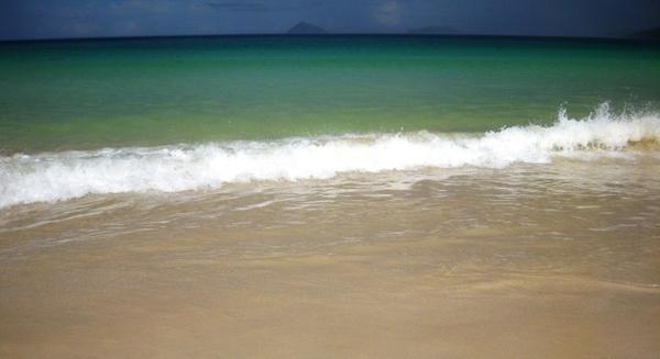 shoreline galapagos island