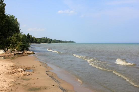 shoreline other side