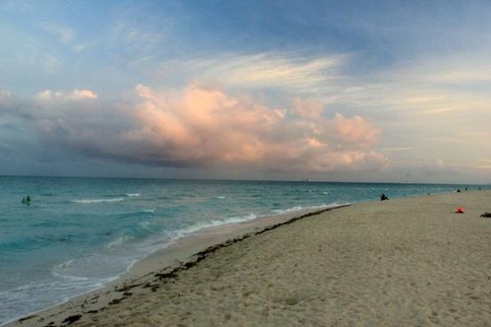 shoreline other way at miami florida