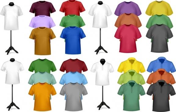 shortsleeve tshirt dress vector