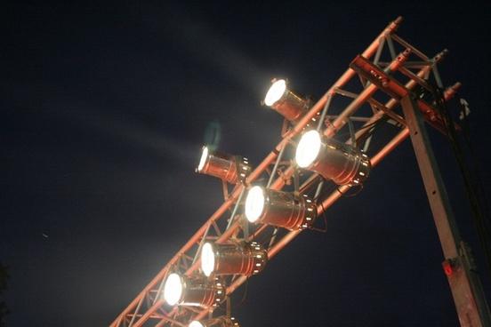 show lights beam