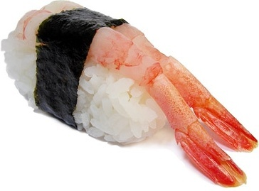 shrimp sushi picture
