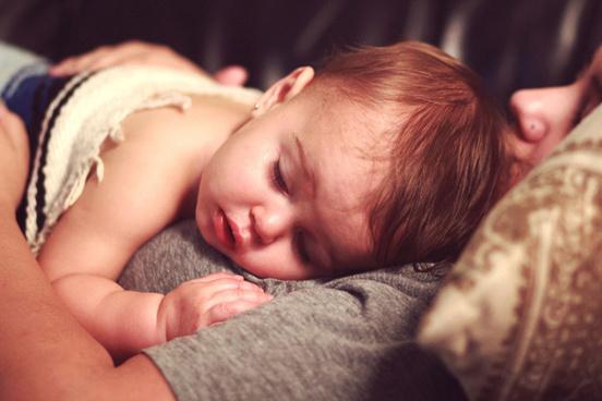 sick baby girl
