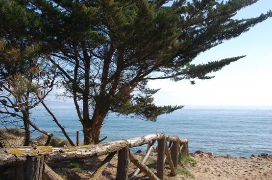 side landscape beach