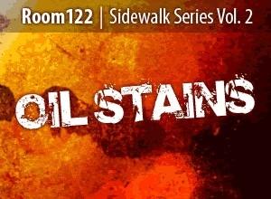 Sidewalk Series-Oilstains