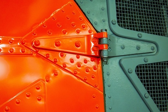 signal colour helicopter door rivet