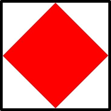 Signal Flag Foxtrot clip art