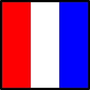 Signal Flag Tango clip art