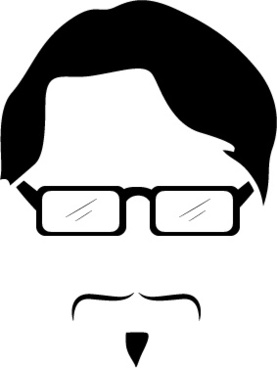 silhouette hipster