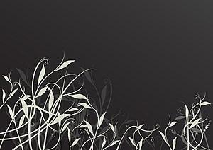 silhouette pattern vector fashion