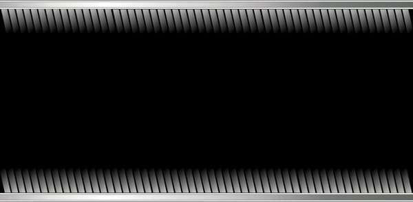 silver and black background