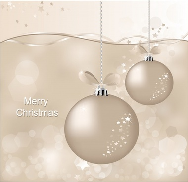 christmas background shiny hanging bauble elegant monochrome