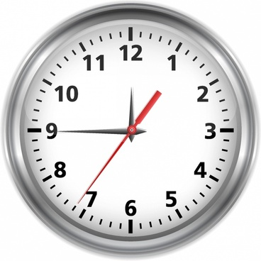 Free vector clock alarm vector graphic available for free download.