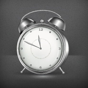 simple alarm clock vector