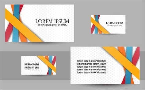 Simple business cards design vector set free vector in encapsulated simple business cards design vector set reheart Choice Image