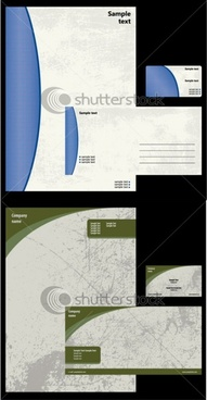 simple fade card background vector