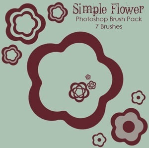 Simple Flowers Brushes