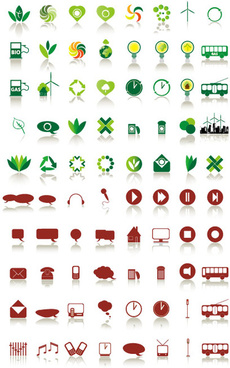 simple icons vector vector