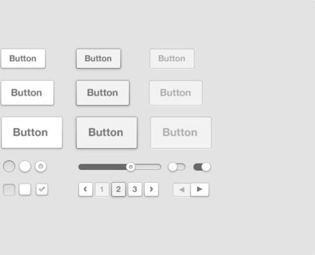 Simple Light UI Kit