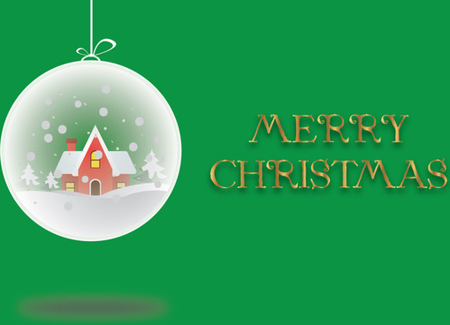 simple merry christmas design