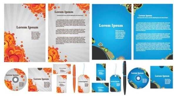simple template vector business vi