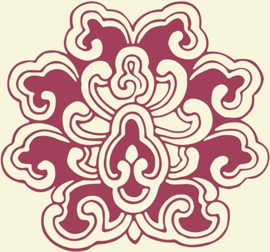 simple vintage patterns vector