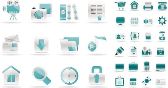 Simple web design icon vector