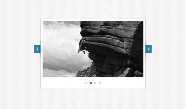 Simplistic Image Slider PSD