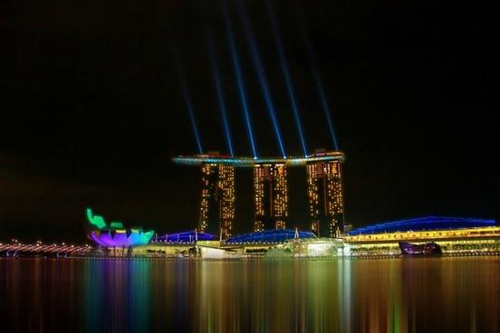 singapore city seaside