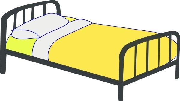 Single Bed clip art