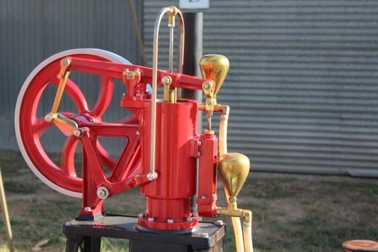 single cylinder engine machine