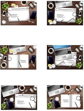 six desktop vector