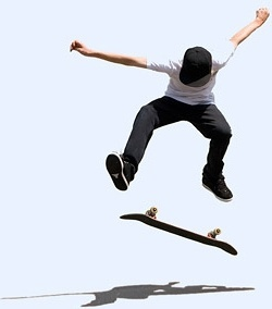 skateboarding picture 1
