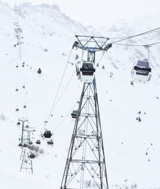 ski gondola lift